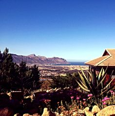 setting for Paul's wedding in Feb 2014 South Africa, Westerns, Cape, Mountains, House Styles, Places, Wedding, Travel, Mantle