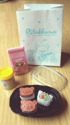 Rilakkuma Re-Ment sushi set ❤ Blippo.com Kawaii Shop ❤