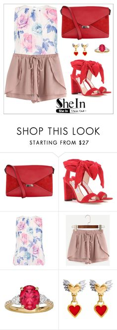 """""""#love"""" by sanidaskrebo ❤ liked on Polyvore featuring CÉLINE, Jimmy Choo and Dorothy Perkins"""