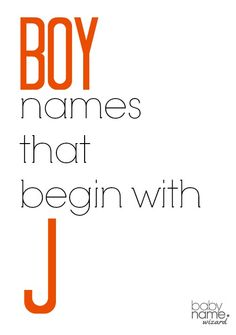 """Boy names starting with J that includes meanings, origins, popularity, pronunciations, sibling names, and more!  <a class=""""pintag searchlink"""" data-query=""""%23babynames"""" data-type=""""hashtag"""" href=""""/search/?q=%23babynames&rs=hashtag"""" rel=""""nofollow"""" title=""""#babynames search Pinterest"""">#babynames</a>"""