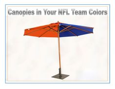 Football season is getting super exciting! Show your support with custom canopies in your favorite team's colors today!