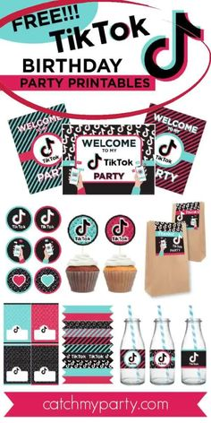 12th Birthday Party Ideas, 13th Birthday Parties, 10th Birthday, Birthday Party Decorations, Easy Decorations, Frozen Birthday, Party Favor Tags, Party Invitations, Party Favors