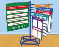 Turn & Learn Mobile Chart Stand