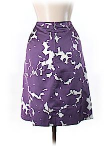 Practically New Size 6 Banana Republic Silk Skirt for Women
