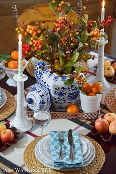 Include Trendy Copper into Your Thanksgiving Tablescape: Create and Share - Casa Watkins Living