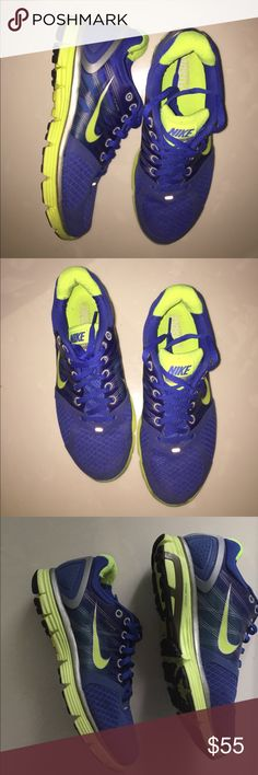Nike Lunarglide 2 Pre-owned Blue Nike Lunarglide 2. Size 6. In great condition Nike Shoes Sneakers