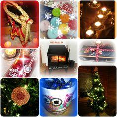 Valokuvaus, kuvien käsittely ja kirjoittaminen ovat intohimoni - tämä kuvakollaasi esitteli taannoin erästä pikkujoulua Facebookissa. Tunnelmallista joulua!