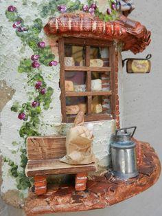 Caseificio (particolare) Tegole antiche decorate e dipinte a mano. http://www.coppobuonricordo.it/2014/11/il-caseificio.html