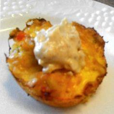 Low Carb Tuna Muffin with Cajun Mayo