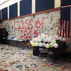 This well read classroom: | The 12 Greatest Senior Pranks Ever Caught On Camera