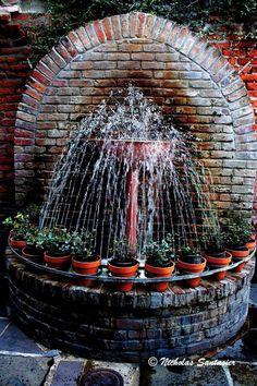New Orleans Courtyard Fountain