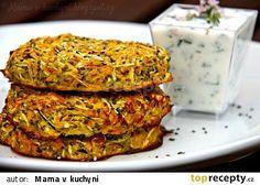 Zeleninové placky s chia semínky recept - TopRecepty.cz