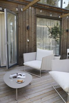 Outdoor Spaces, Outdoor Living, Nordic Home, Backyard For Kids, Terrace Garden, Cottage Homes, New Room, Home Interior Design, Interior Inspiration