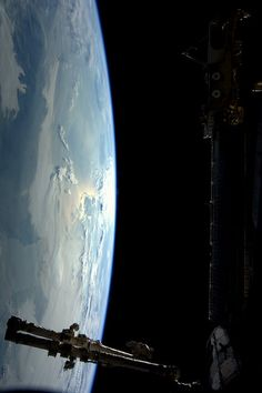 Photo of The Netherlands, taken by astronaut André Kuipers, aboard the International Space Station on May 23, 2012