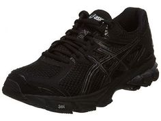 Asics Gt-1000 3 Womens T4K8N-9099 Black Running Shoes Training Sneakers Size 6.5
