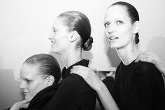Akris - Paris Fashion Week - Otoño Invierno 2014/2015 - Fashion Backstage