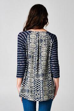 Knit Lori Top | Awesome Selection of Chic Fashion Jewelry | Emma Stine Limited