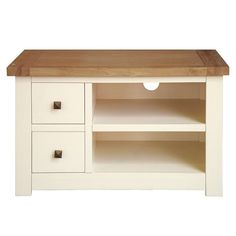 Henley Cream Small TV Unit | Dunelm