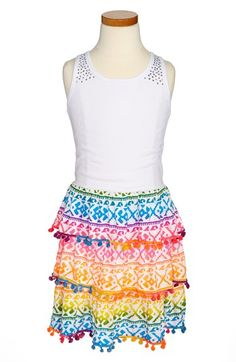 a9ee26b088  Flowers by Zoe  Dresses  Flowers  Trim  Tank  Dress  (