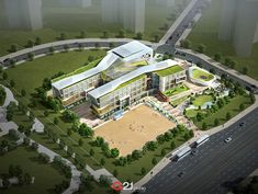 PROJECT A21 University Architecture, Education Architecture, School Architecture, Landscape Architecture, School Building Design, School Design, Condominium Architecture, Hospital Plans, Hospital Design