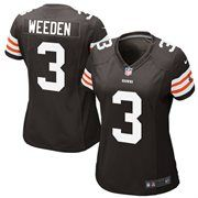 Nike Brandon Weeden Cleveland Browns 2012 NFL Draft Women's Game Jersey - Brown #Fanatics #PinForPresents