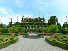 Borromean Islands - Palazzo Borromeo (Isola Bella) Italy