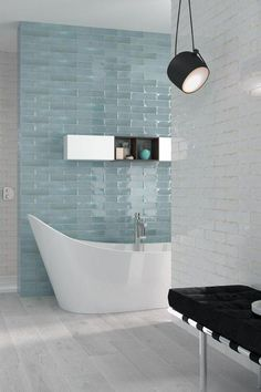 Metro tiles with colour. Renovate your bathroom, kitchen or any area with these tiles. Offering a wide variety of these timeless tiles, view our website to see them all #decobella #metrotiles #bathroomideas #bathroomrenovation #tiletrends #interiortrends #bathroomtiles