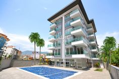 Check out this lovely and newly finished apartment in Alanya which is located in the popular area of Oba.