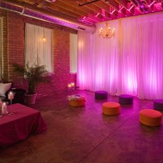 The front area - for a Sangeet.
