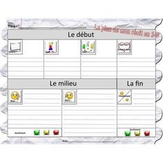 Récit en 3D Core French, 1st Boy Birthday, Daily 5, French Language, Literacy, Classroom, Teaching, Writing, School