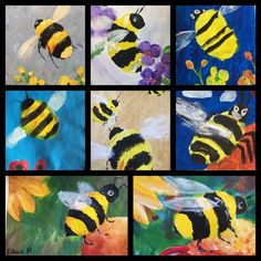 Karen Symons Kids art class creations The Effective Pictures We Offer You About kindergarten art pro Kids Art Class, Art For Kids, Art Children, Grade 1 Art, Spring Art Projects, Kindergarten Art Projects, Visual And Performing Arts, Bug Art, Insect Art