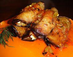 Eggplant Rolls - GrabandgoRecipes.com Russian Home Cooking Recipes