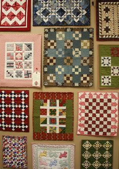 Temecula Quilt Co. Doll Quilt Show. I would love to see a room of these at the Woodlawn Needlework Exhibition, March 2013.