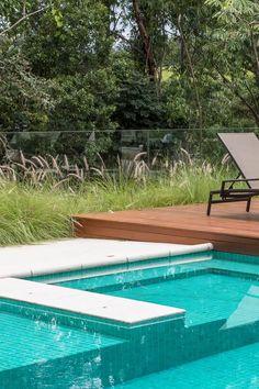 Small Backyard Pools, Swimming Pools Backyard, Swimming Pool Designs, Pool Decks, Garden Pool, Pool Landscaping, Swimming Pool Architecture, Landscape Architecture Design, My Pool