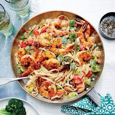 How to Make Cajun Shrimp Linguine