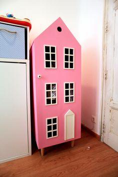 House shaped children wardrobe.
