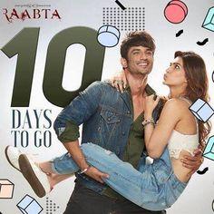 #10DaysToGo to meet #ShivAndSaira in Theaters on 9th June #Raabta Stay tuned on FilmyTune