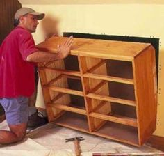 Knee Wall Storage Dresser Is A Great Space Saver