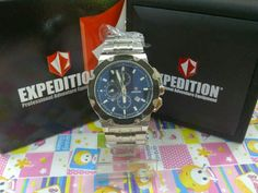 EXPEDITION MEN 6352 M SILVER BLACK
