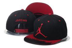 Jordan Snapback Caps Hats Lava Red