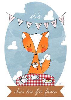 chai+te+for+foxes.jpg (1144×1600)
