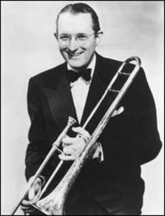 Tommy Dorsey - one of the greatest trombonists and big band performers of all time.  Tommy Dorsey Band was great