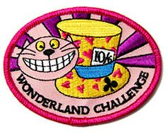 The Wonderland Challenge - Great for any Alice in Wonderland theme camp, activity, etc. Complete several challenges listed to earn the badge. :)
