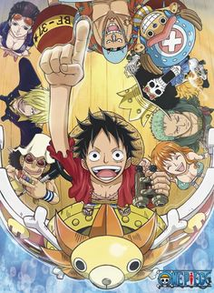 ONE PIECE Poster One Piece New World (52x38)