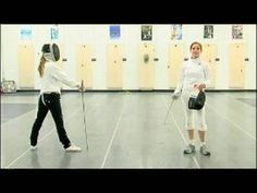 Foil Fencing Attacks : The Coupe & Foil Fencing