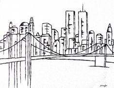 Brooklyn Bridge Painting  - Brooklyn Bridge Fine Art Print