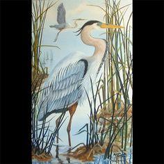 heron artwork - Google Search
