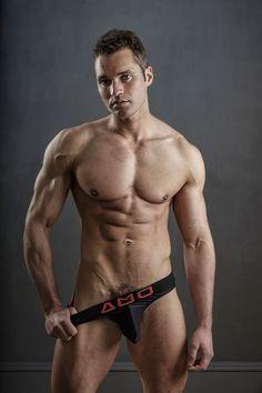 Fitness model Jamie B by Steve France featuring AMU underwear - Fashionably Male Men's Undies, Hottest Male Celebrities, Alpha Male, Male Body, Male Models, Physique, Beautiful Men, Fitness, Hot Guys