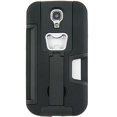 Dual Layer Bottle Opener Case w/ Stand for #Samsung #GalaxyS4, Black $16.99 from #DayDeal