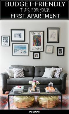 Money Saving Tips For Styling Your First Apartment